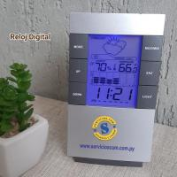 Reloj Digital con Luz Led