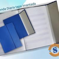 Agenda Diaria Organiza tu día con esta cómoda Agenda Diaria, tiene una tapa imantada para proteger tus apuntes.  Para más informes comunicate al whatsApp 0982-950800 Lìnea baja 021-208208 o escribenos en la galería de contactos