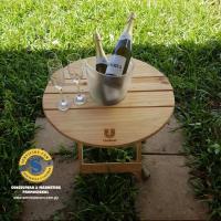 Mesa con porta Champañera