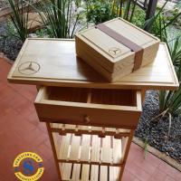 Bargueño en madera de pino