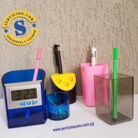 Porta Lapices y Bolígrafos  Te presentamos los modelos de porta lapices de escritorio que disponemos en el stock por si necesites de manera inmediata. Consultas al WhatsApp 0982 950800