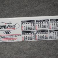 Calendario acrílico