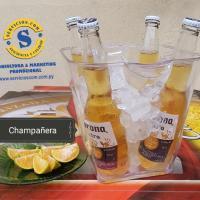 Champañera Acrílica