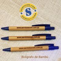 Bolígrafo de Bambu