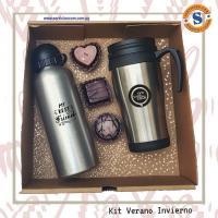 kit Verano Invierno Hoppy y Vaso Térmico un presente para fomentar la hidratación a clientes y amigos. Para más informes comunicate al whatsApp 0982-950800 Lìnea baja 021-208208 o escribenos en la galería de contactos