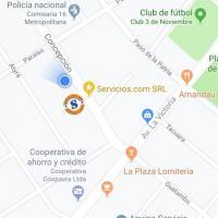 Mapa de Ubicación  Dirección: Concepción 3340 e/Paraíso y Av. La Victoria Contactos: ☎ (021) 208-208